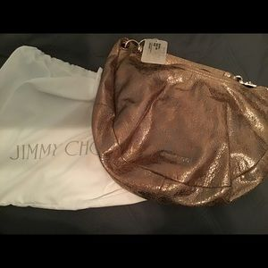 NWT Jimmy Choo solar bag gorgeous